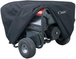 Accessories Generator Cover Large Black Heavy Duty Covers New