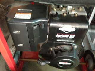 Generac 5000 Watt Generator with Wheel Kit 6250 Surge Watts