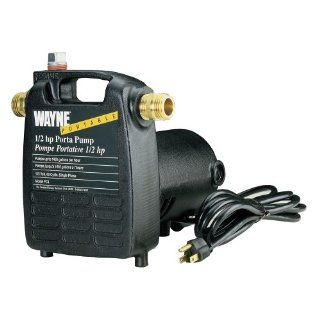 Wayne Pumps PC4 55832 1/2 HP Portable Cast Iron Transfer Pump