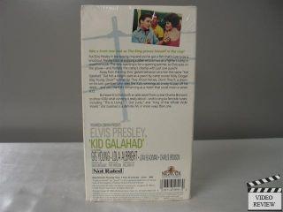 Kid Galahad VHS Elvis Presley Gig Young Lola Albright Charles Bronson