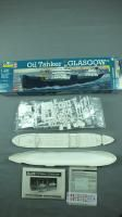 Vintage Revell Oil Tanker Esso Glasgow SHIP Model Kit 1 400 Scale