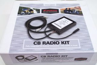 Radio Accessory Kit 2001 2010 GL1800 Goldwing Genuine Honda V93