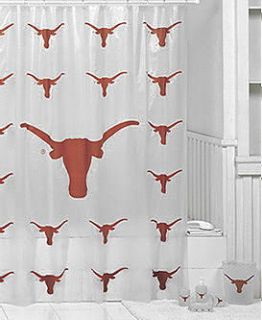 Texas Longhorns 7 PC Bath Set Shower Curtain WB