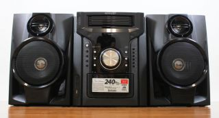Sharp CD DH950 CD DH950P 5 Disc Compact Stereo 2 Way Speaker System