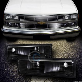 LENS SIGNAL BUMPER LIGHTS LAMP DY 88 98 CHEVY GMC C10 CK C/K TRUCK/SUV