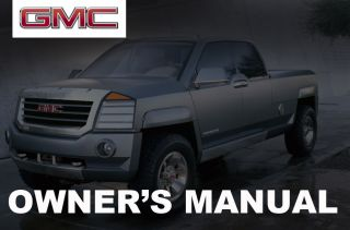 GMC Safari Savana Sierra 2003 2004 2005 2006 2007 Owners Owners