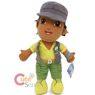 Go Diego Go 14 Diego Plush Doll Soft Stuffed Toy by Nanco Grey Jacket