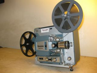 Bell Howell Model 482 Super 8 Telecine Projector with Modified Lamp