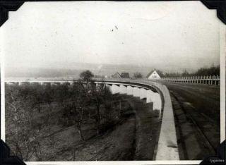 WWII Autobahn Bridge Germany 3rd Div 15th Inf Motor