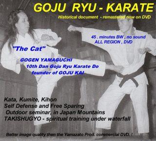 Goju Ryu Karate Gogen Yamaguchi The Legend