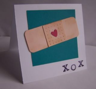 Stampin Up Handmade Greeting Card Get Well PY Lot