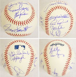 1969 Chicago CUBS Team Signed MLB Baseball (w/Ron Santo SS) w/12 Sigs