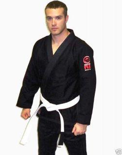 Fuji Brazilian Jiu Jitsu Gi Kimono bjj Uniform Black A2