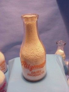 Quart Milk Bottle Lawrenceburg in RitzmannS