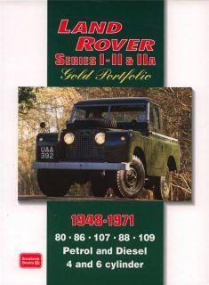 Land Rover Series I II IIa Gold Portfolio 1948 1971