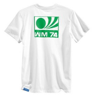 Adidas Gerd Müller DFB Retro Trikot Shirt Fussball Wm 1974