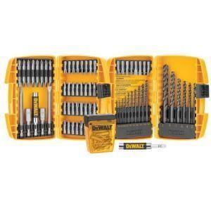 NEW DEWALT 95 Piece Screw Drive Drill Bit Bits Set 80 Value Great Gift