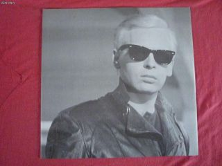 Gary Numan Strange Charm LP 1986 UK Prt NUMA1005 1st A1 B1 Lyric Inner