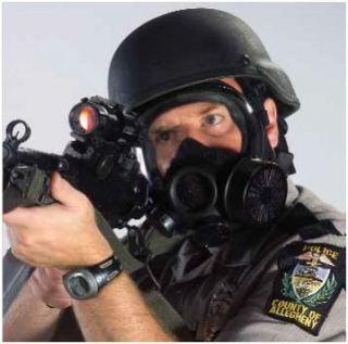MSA Advantage 1000 Riot Control Agent Gas Mask Medium