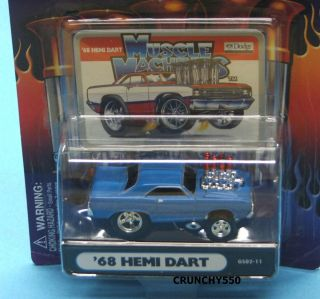 1968 Dodge Hemi Dart Gasser Series GS02 11 Muscle Machines 1 64