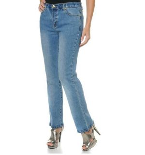 DG2 Diane Gilman Stretch Denim Boot Cut Jeans with Concho Rivets Sz 4P