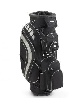 New Bag Boy Golf Revolver XL Cart Bag Black Black Silver 040782311321