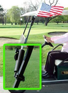 Adjustable Golf Cart Flag Mount Bracket Handicap Flag
