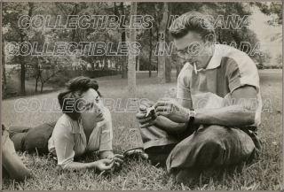 Giant 1956 ★ Elizabeth Taylor Taking Break James Dean Japanese