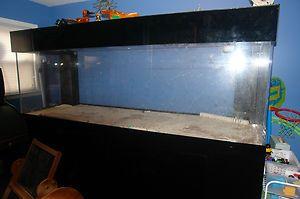 400 GALLON AQUARIUM HUGE FISH TANK salt water / fresh water *****