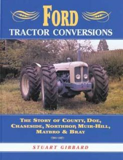 Book Ford Tractor Conversions by Stuart Gibbard