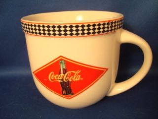 Gibson Coca Cola 2 Coke Ceramic Coffee Mug Mugs Cup Cups Red Black