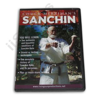 Sanchin Kata Okinawan Goju Ryu Karate DVD Miyagi Shimei New