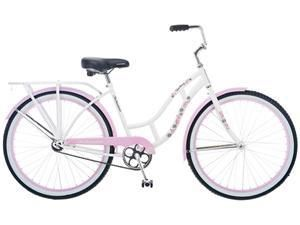 26 Single Speed White Womens Girls Bike Bicycle Sale