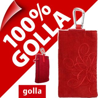 New Golla Red Phone Case Cover Pouch for Nokia 6303 6700 C5 C2 01 C3