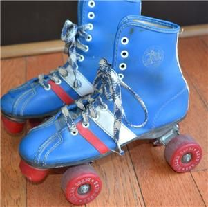 kids Boys Girls Roller Derby 4 Wheelers Roller Skates Size 4 Wheels