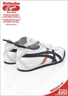 New Asics Onitsuka Tiger Mexico 66 White Pearl Blue Shoes T22