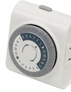 GE GENERAL ELECTRIC 24 Hour Easy Set Lamp Appliance Timer Plug In