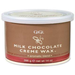Gigi Milk Chocolate Creme Wax 14 oz Hair Removal Waxes