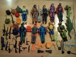 80s Gi Joe Action Figures and Accessories