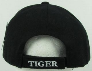 New Black Prowling Bengal Tiger Baseball Cap Hat