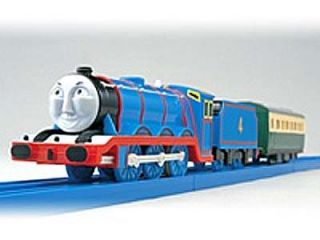 Tomy Trackmaster Thomas Friend Gordon with 2 Trucks