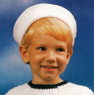 Y080 Crochet Pattern Only Quick Easy Sailor Hat for Kids