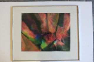 Sam Gilliam African American Artist Signed Abstract Expressionist
