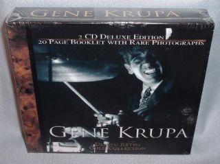 CD Gene Krupa Dejavu Retro Gold Collection 2CDs SEALED