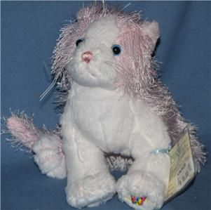 NWT Pink and White Cat *ADVENTURE PARK***Great Service, FAST ship