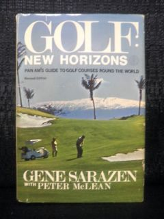 Gene Sarazen Signed Golfs New Horizons Golf Book JSA