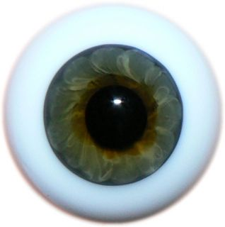 Reborn Dolls Real Glass Eyes Color 55 Topaz 22 Mm