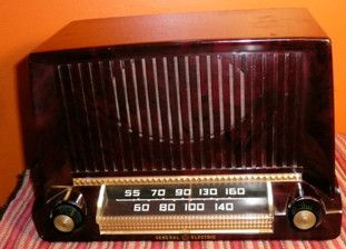 General Electric Radio Bakelite Case