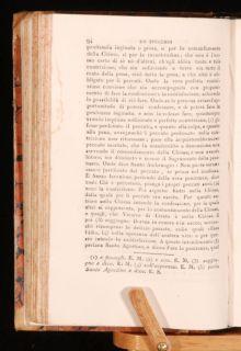 1825 Lo Specchio Della Vera Penitenzia Hannibal in Italian Jacopo