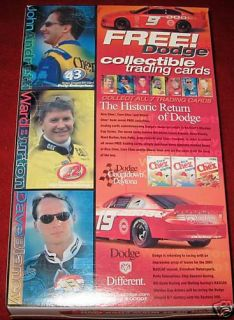 General Mills Wheat Chex John Andretti Ward Burton